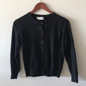 Coach Button Down black sweater